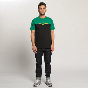 Мужская футболка Fred Perry Colour Graphic (Pitch Green)