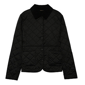 Женская куртка Barbour Devron Polar Quilted (Black)