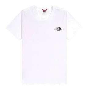 Мужская футболка The North Face Red Box (White)