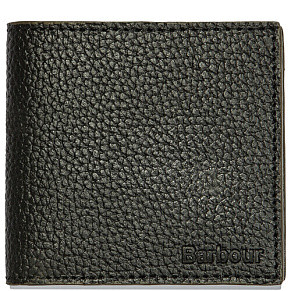 Кошелек Barbour Grain Leather (Black)