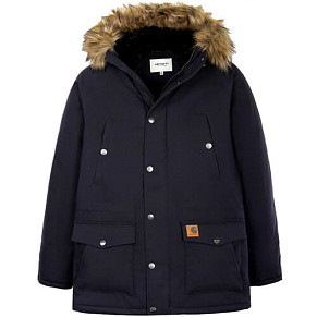 Мужская парка Carhartt WIP Trapper (Dark Navy)