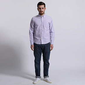 Мужская рубашка Carhartt Button Down Pocket (Soft Lavender)