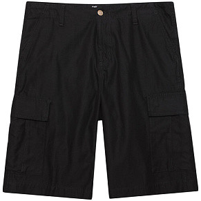 Мужские шорты Carhartt WIP Regular Cargo (Black Stone Washed)