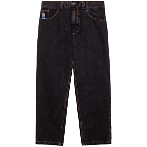 Мужские джинсы Polar Skate Co. 93 Denim (Washed Black)