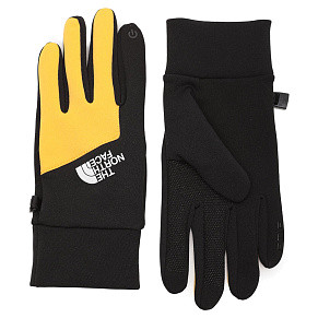 Перчатки The North Face Etip (Black - Yellow)
