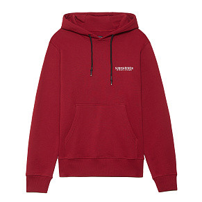 Мужская толстовка Submariner Coordinates Main Logo Hoodie (Bordeaux)