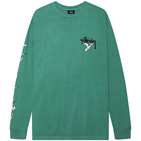 Мужской лонгслив Stussy One Love Pig. Dyed (Moss)
