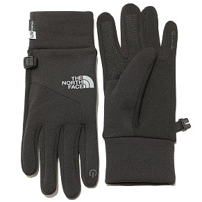 Перчатки The North Face Etip (Black - Silver)