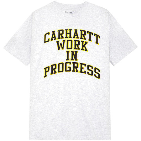 Женская футболка Carhartt WIP Division (Ash Heather)