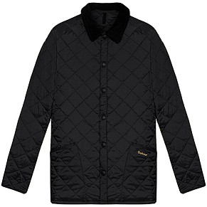Мужская куртка Barbour Heritage Liddesdale Quilted (Black)