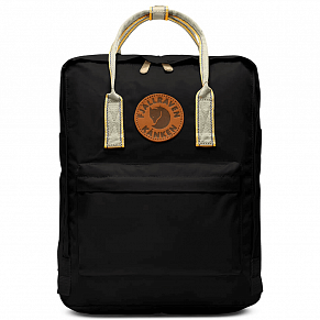 Fjallraven Kanken Greenland Backpack (Black-Greenland Pattern)