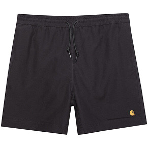 Мужские шорты Carhartt WIP Chase Swim (Black - Gold)