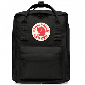Fjallraven Kanken Mini Backpack (Black)