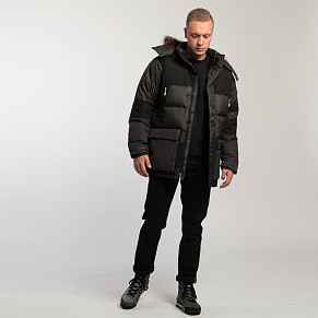 Мужская парка The North Face Vostok (Asphalt Grey)