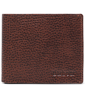 Кошелек Barbour Peterlee Leather Billfold (Dark Brown)