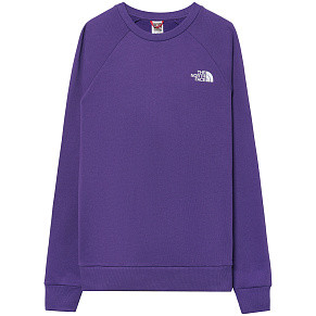 Мужская толстовка The North Face Raglan Red Box Crew (Hero Purple)