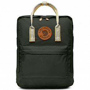 Fjallraven Kanken Greenland Backpack (Deep Forest-Greenland Pattern)