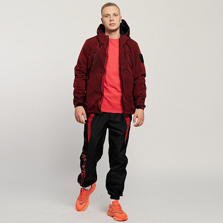 Мужская куртка Outhere 09:10 PM Windbreaker Garment-Dyed (Red)