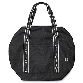 Сумка Fred Perry Monochrome Barrel (Black)