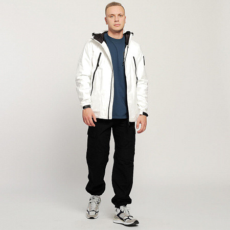 Мужская куртка Outhere 09:10 PM Windbreaker UV Stealth Reactive (White)