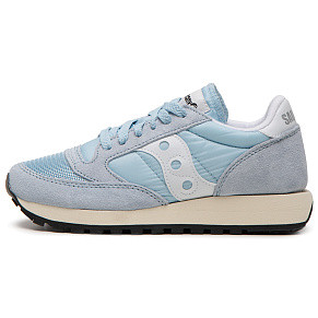 Женские кроссовки Saucony Jazz Original Vintage (Blue - White)