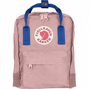 Fjallraven Kanken Mini Backpack (Air Blue-Pink)