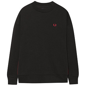 Женская толстовка Fred Perry Taped (Black)