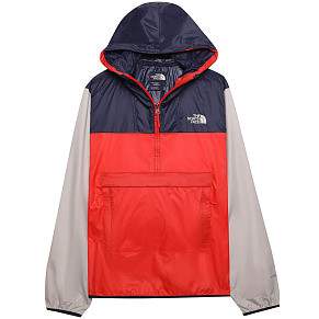 Мужской анорак The North Face (Fiery Red - Urban Navy)