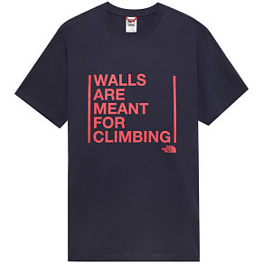 Мужская футболка The North Face Walls Climb (Urban Navy)