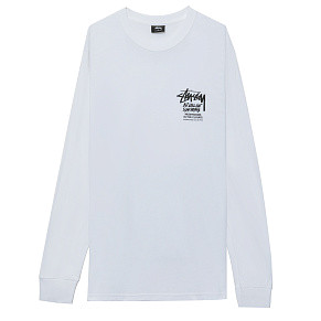 Мужской лонгслив Stussy In The Clouds (White)