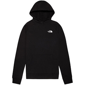 Мужская толстовка The North Face Raglan Red Box Hood (Black)