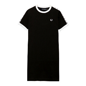 Женское платье Fred Perry Taped Tipped (Black)