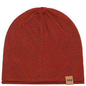 Шапка Helly Hansen Merino Wool Beanie (Red Brick)