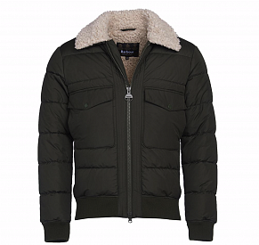 Мужская куртка Barbour International Steve McQueen Java Quilted (Sage)