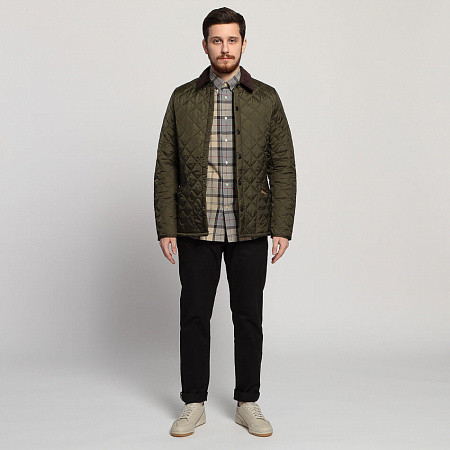 Мужская куртка Barbour Heritage Liddesdale Quilted (Olive)