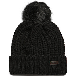 Шапка Barbour Saltburn Beanie (Black)