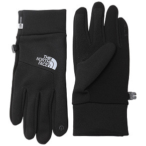 Женские перчатки The North Face Etip Hardface (Black)