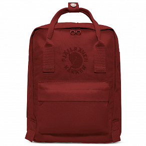 Fjallraven Re-Kanken Mini Backpack (Ox Red)