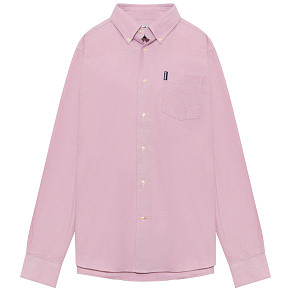 Мужская рубашка Barbour Oxford 8 Tailored (Raspberry)