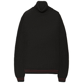Мужской свитер Edwin Line Rollneck (Black - Dark Purple Garment Wash)