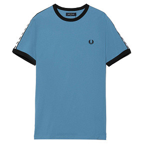 Мужская футболка Fred Perry Taped Ringer (Riviera)