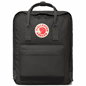 Fjallraven Kanken Backpack (Graphite)