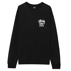 Мужской лонгслив Stussy In The Clouds (Black)