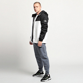 Мужская куртка The North Face Mountain Q (White - Black)