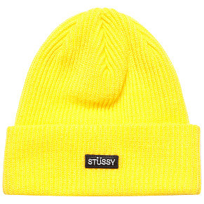 Шапка Stussy Small Patch Watch (Yellow)