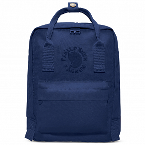 Fjallraven Re-Kanken Mini Backpack (Midnight Blue)