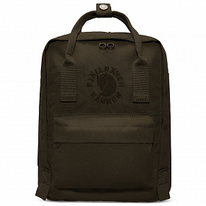 Fjallraven Re-Kanken Mini Backpack (Dark Olive)