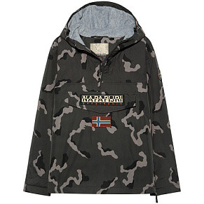 Мужской анорак Napapijri Rainforest Camou 1 (Grey Camo)