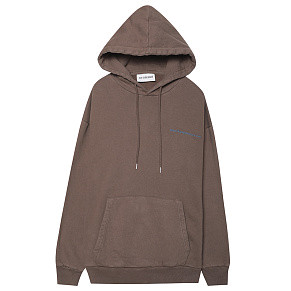 Мужская толстовка Han Kjobenhavn Artwork Hoodie (Brown)