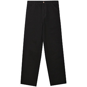Мужские брюки Carhartt WIP Single Knee (Black Rinsed)